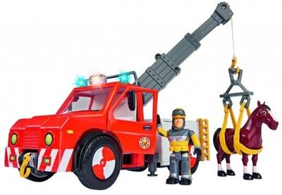 Fireman Sam Požiaru truck PHOENIX + FIGÚRKY Simba