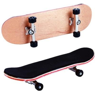 Hmatník drevený prstový skateboard