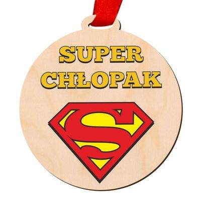 Medal Dzień Chłopaka Super Prezent Nadruk UV