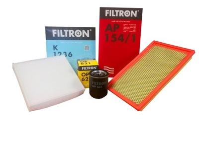 ZESTAW FILTRÓW FILTRON do FIAT SEDICI 1.6 16V