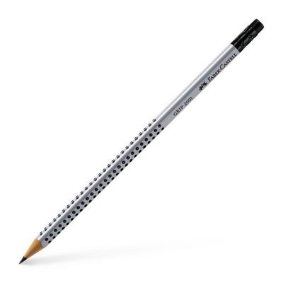 -Castell карандаш HB с ластиком, Нескользящий Grip