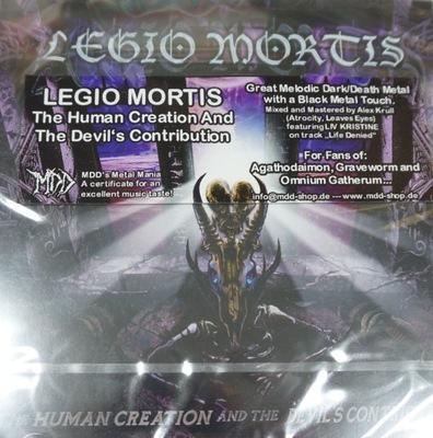 Legio Mortis The Human Creation And Cd 9706402544 Oficjalne Archiwum Allegro