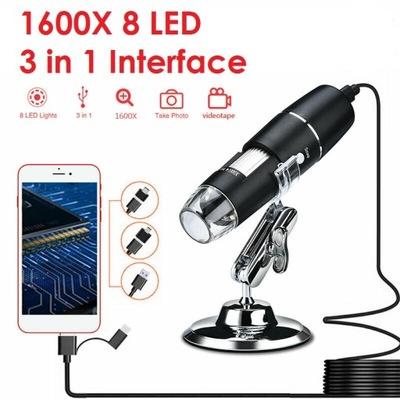 Przenośny mikroskop cyfrowy - 1600X