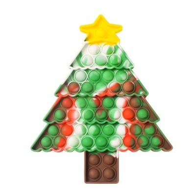 Christmas tree Push Bubble Popping Fidget Toys-A