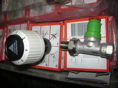 zawór termostatyczny danfoss 3/8 RA-N 10 prosty