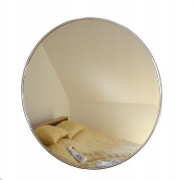 Okrúhle zrkadlo, strieborný kruh, priemer 100 cm
