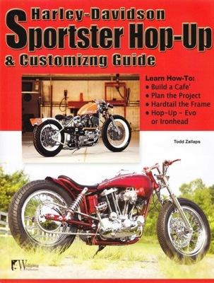 Harley-Davidson Sportster customizing modyfikacje