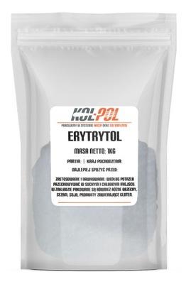 Erytrol ERYTRYTOL słodzik cukier 1kg 1000g E968
