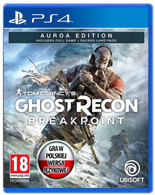 PS4 GHOST RECON BREAKPOINT AUROA EDITION - PL