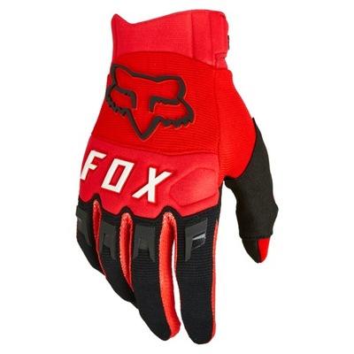 Rękawiczki rowerowe DH MTB FOX DIRTPAW CZERWONE L