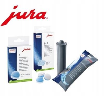 JURA filtr CLARIS odkamieniacz tabletki E8 ENA Z6