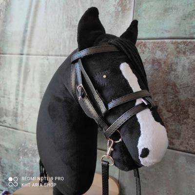 Ogłowie angielskie z wodzami - hobby horse
