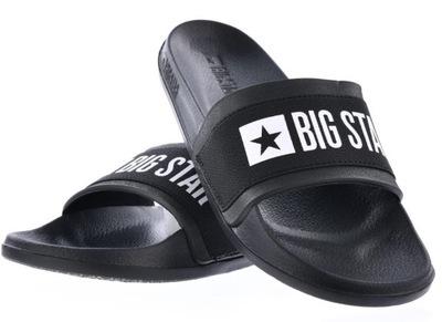 Klapki damskie BIG STAR czarne HH274A013 37