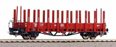 Wagon platforma z kłonicami ex Ulm H0 PIKO 54458