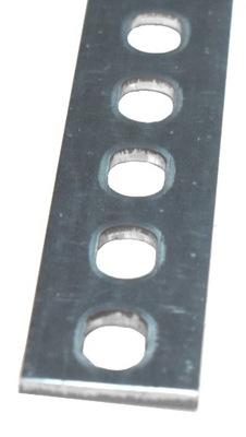 Płaskownik perforowany, ocynkowany 30x3x2000