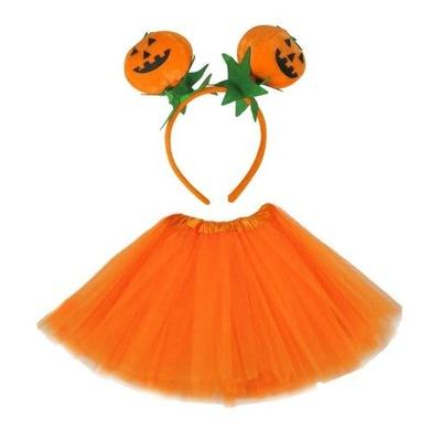 Stroj Dynia Bal Jesieni Halloween 116 122 Jesien 9840096952 Oficjalne Archiwum Allegro