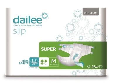 Dailee Slip Super Premium Pieluchomajtki M 28 szt.
