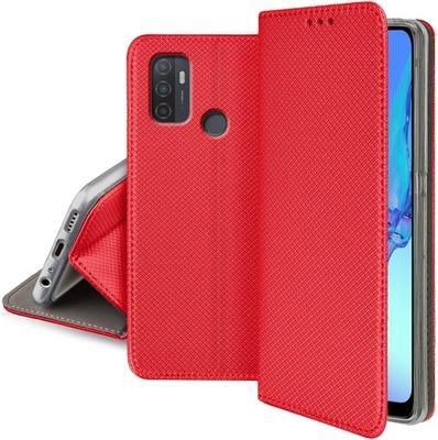 Etui do Oppo A53 2020 Case Magnet Portfel + Szkło