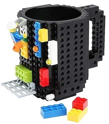 Кружка klockowy ЛЕГО Черный кофе, чай, колодки