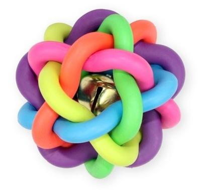 Мяч игрушка для собаки с колокольчиком ПЭТ Nova 6 ,5 см
