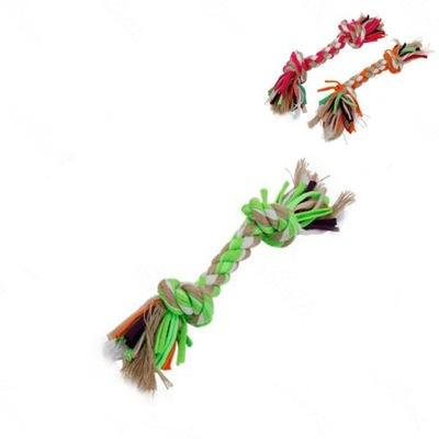 Zabawka gryzak dla psa sznur bawełna 23CM