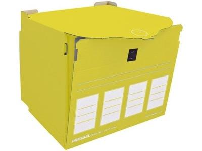 Pressel Pojemnik zbiorczy 330X310X340MM żółty (10
