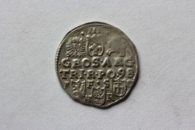 TROJAK BYDGOSZCZ POLSKA 1598-ZYGMUNT III WAZA ST.2