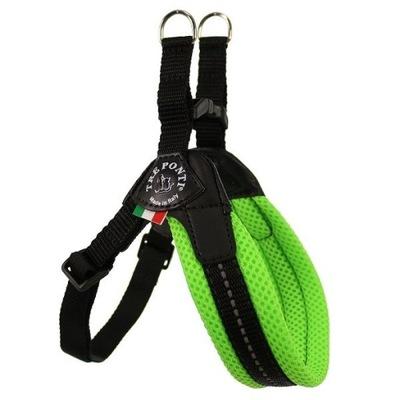 Брекеты мини собаку 33 -47cm TRE PONTI Mesh зеленые