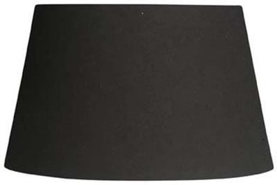 Klosz Abażur Oaks Lighting bawełna czarny 30 x 18