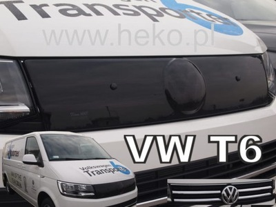 ЗАЩИТА РЕШЕТКА VW TRANSPORTER T6 2015- РЕШЕТКА РАДИАТОРА ХРОМ