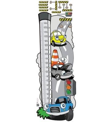 наклейка детей - мерка Рост - Автомобиля