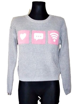 C&A Sweter dziewczęcy roz 146-152 cm