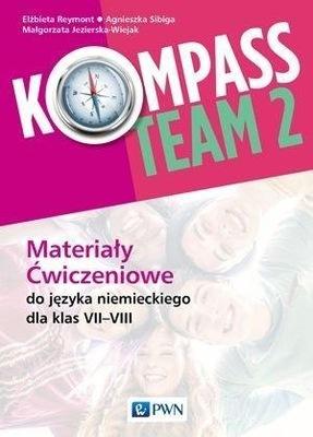 Kompass Team 2 j niemiecki PWN Ćwiczenia jkl