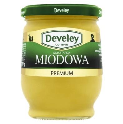 [ŚD] Musztarda DEVELEY Miodowa Premium 270g