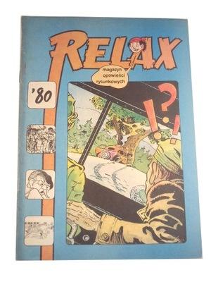 RELAX nr. 28 1980 r. wyd. I stan kolekcjonerski.