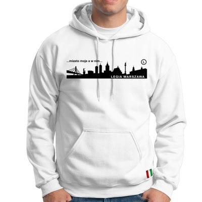 Legia Warszawa, bluza, hoodie, super jakość, r M