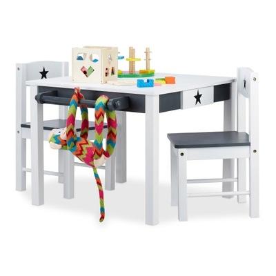 Белый СЕДОЙ ?????????? стол СТОЛИК 2 стулья ДЕТЕЙ