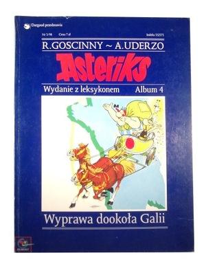ASTERIKS WYPRAWA DOOKOŁA GALII wyd. z leksykonem
