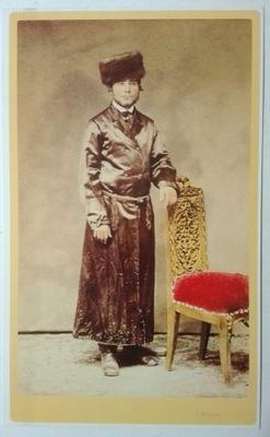 открытка Портрет молодого Еврея И. Кригер 1860 SPK
