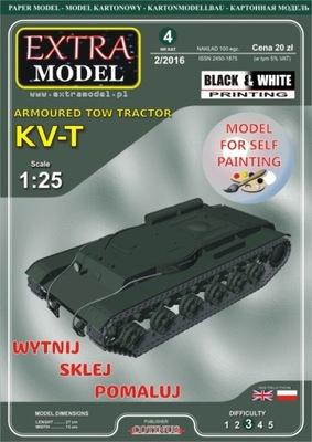 Extra Model_Ciągnik opancerzony KV-T__WYPRZEDAŻ !