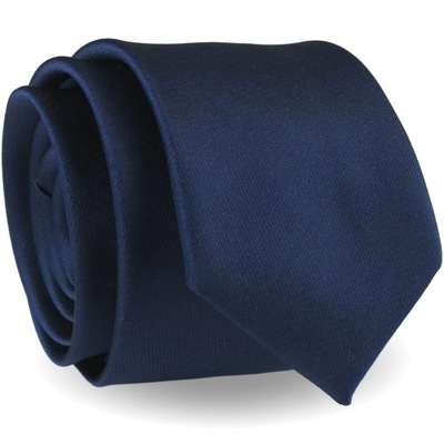 Krawat Męski Elegancki Modny Klasyczny gładki G625