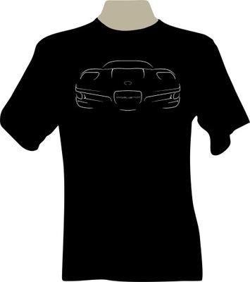 KOSZULKA T-shirt chevrolet CORVETTE C5 front