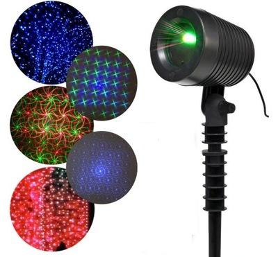 3 Kolory Projektor Laserowy Ip65 Niebieski Pilot 9007361817 Oficjalne Archiwum Allegro