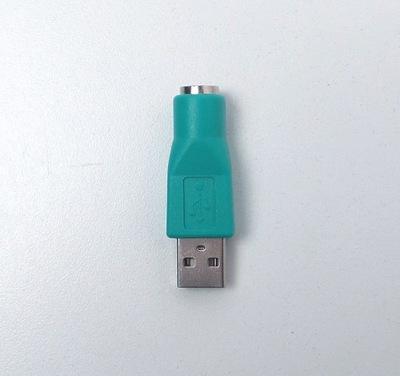 Adapter Przejściówka PS2 PS/2 na USB