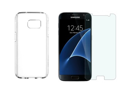 Etui do Samsung Galaxy S7 Edge Slim Case + Szkło