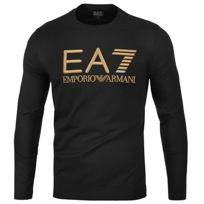 EA7 EMPORIO ARMANI KOSZULKA LONGSLEEVE HAFT /L
