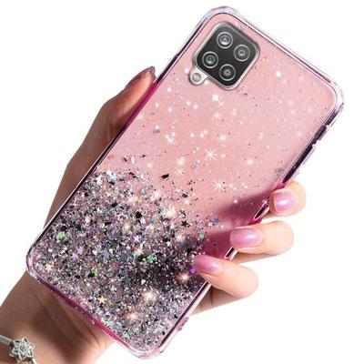 Etui do Samsung Galaxy A12 CASE BROKAT + SZKŁO 9H