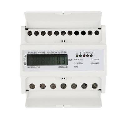 LICZNIK ENERGII 3 FAZOWY TRZYFAZOWY trójfazowy LCD