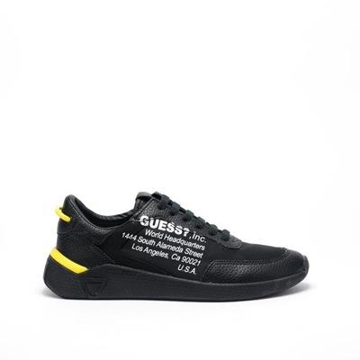 Męskie sneakersy czarne Guess HH1G3014 - 43