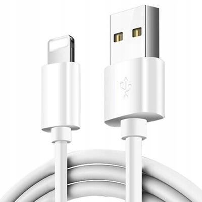 KABEL USB DO ŁADOWANIA IPHONE 5S 6 6S 7 8 X XS 11